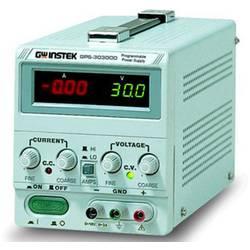 Laboratorní zdroj s nastavitelným napětím GW Instek GPS-3030D, 0 - 30 V, 0 - 3 A, 90 W, Počet výstupů: 1 x