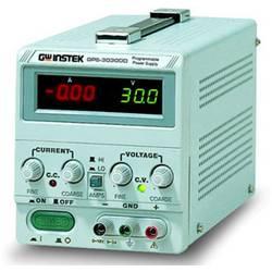 Laboratorní zdroj s nastavitelným napětím GW Instek GPS-3030DD, 0 - 30 V, 0 - 3 A, 90 W, Počet výstupů: 1 x