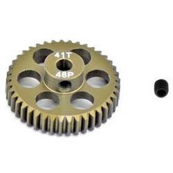 Pastorek motoru ArrowMax Typ modulu: 48 DP Ø otvoru: 3.175 mm Počet zubů: 41