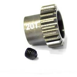 Pastorek motoru ArrowMax Typ modulu: 48 DP Ø otvoru: 3.175 mm Počet zubů: 20