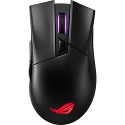 Optická bezdrátová herní myš Asus ROG Gladius 2 90MP00Z0-B0UA00, s podsvícením, černá