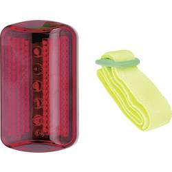 Bezpečnostní osvětlení na kolo/oděv, červená Point 19044601, 19044601