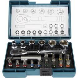 "Sada nástrčných klíčů Makita B-54081, 1/4"" , 21dílná"