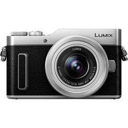 Systémový fotoaparát Panasonic DC-GX880KEGS, 16 Megapixel, černá, stříbrná