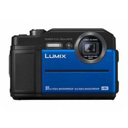Digitálny fotoaparát Panasonic DC-FT7EG-A, 20.4 MPix, optický zoom: 9 x, modrá, čierna