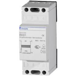 Zvonkový transformátor 4 V, 8 V, 12 V 3 A Doepke 09980085