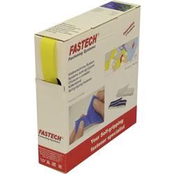 K našití pásek se suchým zipem Fastech B20-STD-H-020810, (d x š) 10 m x 20 mm, žlutá, 10 m