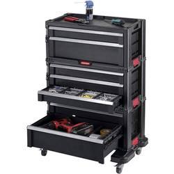 Keter nástrojový vozík so 7 zásuvkami čierny KETER 238557