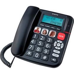 Šňůrový telefon pro seniory Emporia KFT19 černá