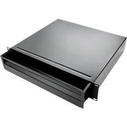 19palcová racková zásuvka Adam Hall 874E02 874E02, 2 U, ocel