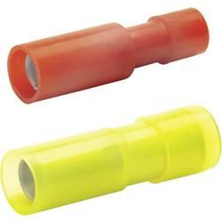 Kulatá dutinka plná izolace Klauke 950V, 4 mm², 6 mm², Ø pin: 5 mm, žlutá, 1 ks