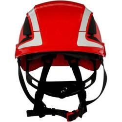 3M SecureFit ochranná přilba X500 5V CE červená větrané reflexní CE červená X5005V-CE