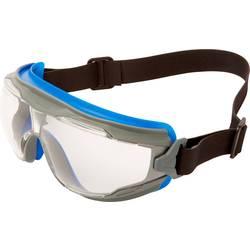 3M goggle Gear 500 brýle GG50 1NSGAF BLU-RAY autoklávovatelné modře šedým rám černý neoprenový pásek jasné podložky 3M GG501NSGAF-BLU