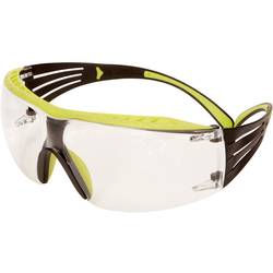 3M SecureFit ochranné brýle SF40 1XRAS-GRN zelená černá Rugged-Anti-Scratch ochranou obočí PC čirá UV AS 3M SF401XRAS-GRN