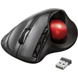 Laserová Trackball Trust SFERIA 23121, antracitová