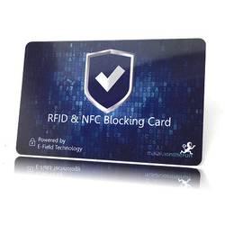 Makaka on the run RFID karta NFC blocker modrá X000Q75901 1 ks