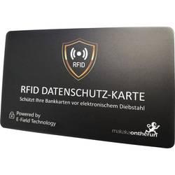Makaka on the run RFID karta NFC blocker černá X000W4TFY9 1 ks