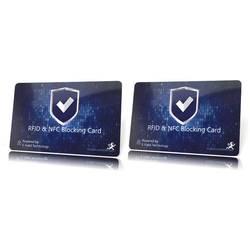 Makaka on the run RFID karta NFC blocker modrá X000M77UST 2 ks