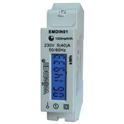 Měřič spotřeby el. energie Velleman EMDIN01, EMDIN01