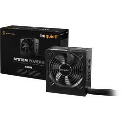 PC síťový zdroj BeQuiet System Power 9 CM 600 W ATX 80 PLUS® Bronze