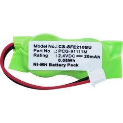 Záložní článek CS Cameron Sino Náhrada za originální akumulátor 2/V15H, 2/V20H, FL2/V11H-WR, PCG-91111M, Varta 2/V30H 2.4 V 20 mAh