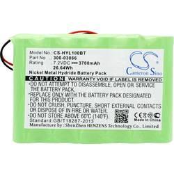 Akumulátor bezpečnostní techniky CS Cameron Sino Náhrada za originální akumulátor 300-03866, LCP500-4B, LYNXRCHKIT-SHA, OSA214 7.2 V 3700 mAh