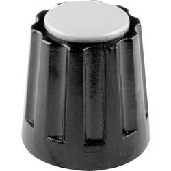 Otočný knoflík Mentor 331.4, (Ø x v) 14.5 mm x 14 mm, černá, 1 ks