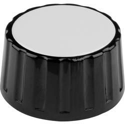 Otočný knoflík s označením Mentor 334.61, (Ø x v) 36 mm x 18.5 mm, černá, 1 ks