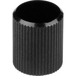 Otočný knoflík Mentor 504.413, (Ø x v) 8 mm x 10 mm, černá, 1 ks