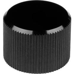 Otočný knoflík Mentor 508.613, (Ø x v) 24 mm x 15 mm, černá, 1 ks