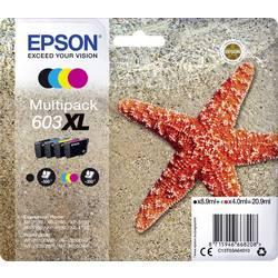 Epson Ink set T03A64, 603XL originál černá, azurová, purppurová, žlutá C13T03A64010