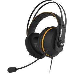 Asus TUF H7 Core herní headset na kabel přes uši, jack 3,5 mm, černá, žlutá