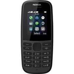 Nokia 105 2019 mobilní telefon Dual SIM černá