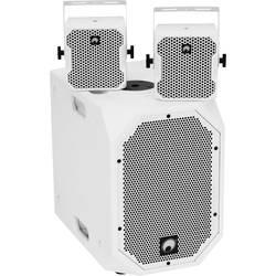 Sada aktivních PA reproduktorů Omnitronic BOB Basic Set 2.1 Bluetooth, integrovaný mixážní pult