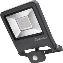 Venkovní LED reflektor s PIR detektorem LEDVANCE ENDURA® FLOOD Sensor Warm White L 4058075239593, 50 W, teplá bílá, tmavě šedá