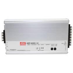 Nabíječka olověných akumulátorů Mean Well HEP-600C-12, 12 V