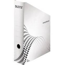 Leitz easyboxx 6140 61400000 stojací pořadač na dokumenty DIN A4 bílá Vlnitá lepenka , Recyklovaný papír 1 ks