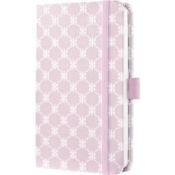 Sigel Jolie® pastel rose JN308 poznámková kniha linkovaný růžová, bílá Počet listů: 174 DIN A6