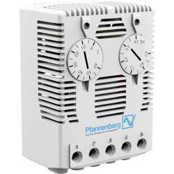 Hygrostat Pfannenberg FLZ 610 HYGR. 230 AC 40-90% rF 17218100000, 230 V/AC, 1 přepínací kontakt, (d x š x v) 38 x 59 x 80.5 mm
