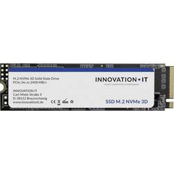 Interní SSD disk NVMe/PCIe M.2 512 GB Innovation IT Black RETAIL Retail 00-512111 M.2 NVMe PCIe 3.0 x2