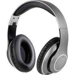 Bluetooth® Hi-Fi sluchátka On Ear Vivanco HIGHQ SENSE 60597, stříbrná