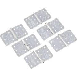 DU-BRO Hinges 11/28 závěs obdélníkový polyamid (d x š) 28 mm x 11 mm 6 ks
