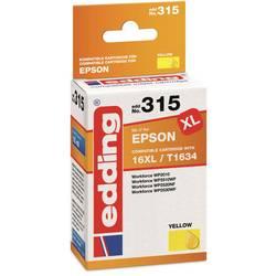 Edding Inkoustová kazeta kompatibilní Single žlutá 18-315 18-315