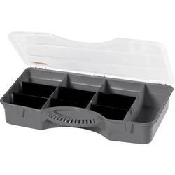 Krabička na malé součástky Alutec, TO 710, přihrádek: 10, 360 x 240 x 70 , černá