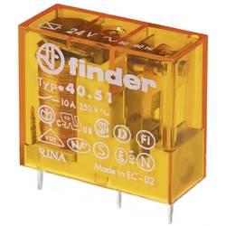 Relé do DPS Finder 10 A, 1 přepínací kontakt, 50 ks