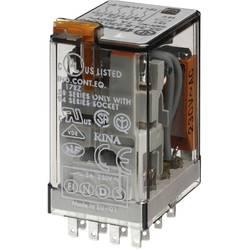 Finder 55.34.8.024.0054 zátěžové relé 24 V/AC 7 A 4 přepínací kontakty 10 ks Tray