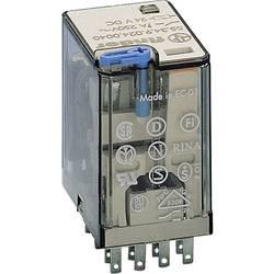 Finder 55.34.9.024.0070 zátěžové relé 24 V/DC 7 A 4 přepínací kontakty 10 ks Tray