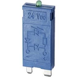 Zasouvací modul s diodou S EMV odrušením , s LED diodou, s varistorem 1 ks Finder Barva světla: zelená vhodné pro sérii: lokátor řada 96