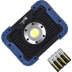 Stavebný reflektor Heitech SPOT450B 04003641, 5 W, čierna/modrá
