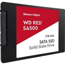"""Interní SSD pevný disk 6,35 cm (2,5"""") 2 TB Western Digital WD Red™ SA500 WDS200T1R0A SATA 6 Gb/s"""